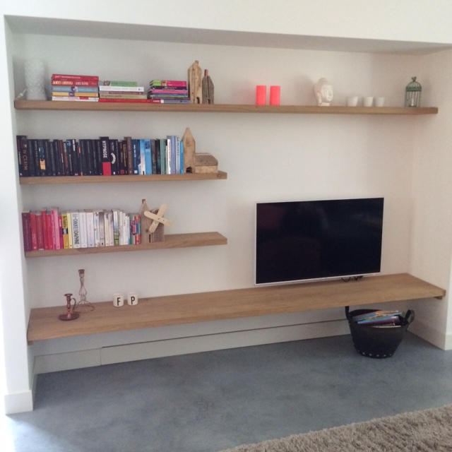 Blinde Houten Wandplank.Eiken Wandplank Blinde Bevestiging Affordable With Eiken Wandplank