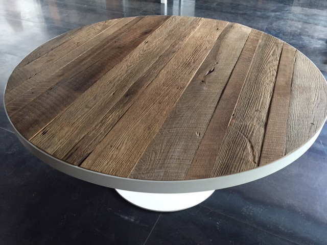 Ronde eettafel hout. interesting dbodhi fendy rond with ronde