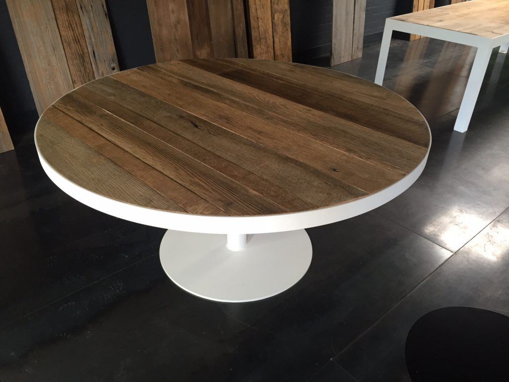 Onderstel Ronde Tafel : Ronde tafel robuust maatwerk