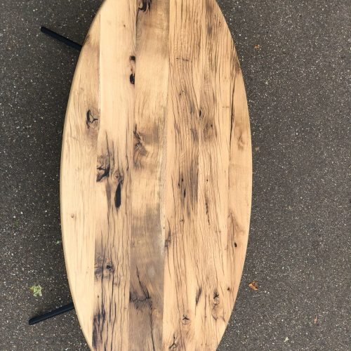 ovale tafel reclaimed wood (6)
